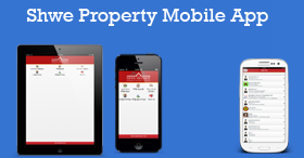 Get Shwe Property App from google play
