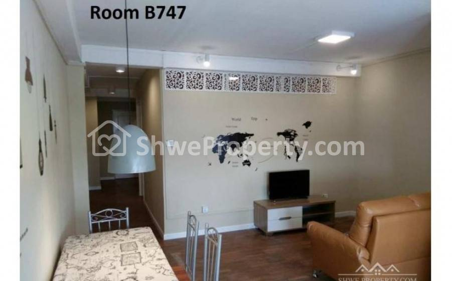 Full furnished 2 BR condo rent in mayangone by owner