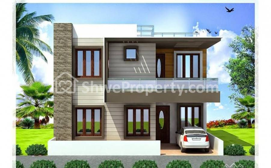 Landed house for rent in chanmyathazi mandalay myanmar for Modern house 6a